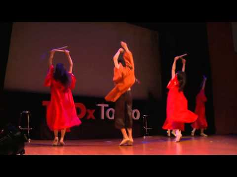TEDxTokyo - ABC Tokyo Ballet - ABCバレエ団 - Red Kimono
