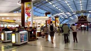 Bangkok International Suvarnabhumi Airport Info Walk Through Duty Free Shopping - Phil In Bangkok