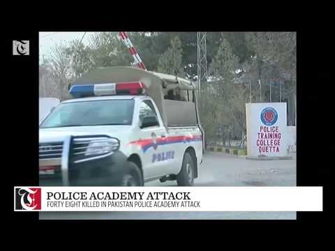48 killed in Pakistan police academy attack