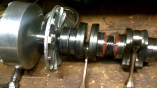 7. 800r Skidoo bad crank bearing