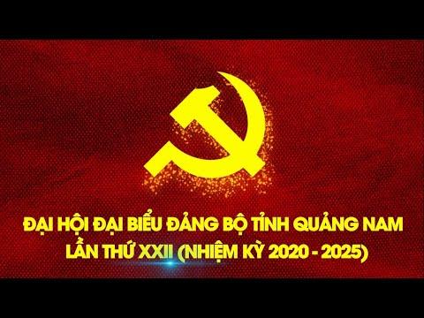 Trailer Chào mừng Đại hội Đại biểu Đảng bộ tỉnh Quảng Nam lần thứ XXII và tâm thế tuổi trẻ