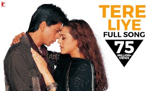 Video Tere Liye - Full Song | Veer-Zaara | Shah Rukh Khan | Preity | Lata Mangeshkar | Roop Kumar Rathod download in MP3, 3GP, MP4, WEBM, AVI, FLV January 2017
