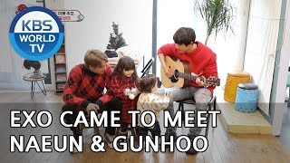 Video Why did EXO come to meet Naeun and Gunhoo?? [The Return of Superman/2018.12.30] MP3, 3GP, MP4, WEBM, AVI, FLV September 2019