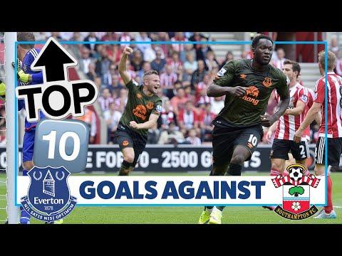 Video: SIGURDSSON, LUKAKU, COLEMAN | TOP 10 GOALS AGAINST SOUTHAMPTON!