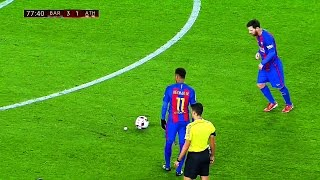 Video 10 Ridiculously Smart & Cheeky Things Lionel Messi Did in 2017 Season ||HD|| MP3, 3GP, MP4, WEBM, AVI, FLV Maret 2019