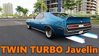 Forza Horizon 3 | Muscle Car Drift Week | AMC Javelin TWIN TURBO Drift Build
