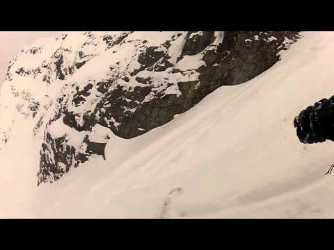 fissile - A friend and I skied Summit Chute off Fissile Peak last Friday. Conditions were less than optimal which made it exciting and quite technical. Unfortunately y...