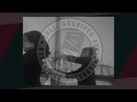 """Instantané """"Monaco en films"""" : L' école de danse de Monaco en 1961"""