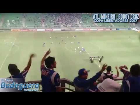 Hinchada vs. Atlético Mineiro en Brasil - La Banda del Expreso - Godoy Cruz