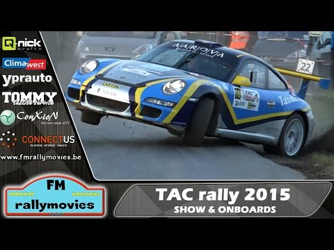 TAC rally 2015 | Show & Onboard Action [HD]