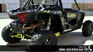 10. 2016 Polaris RZR XP 1000 EPS Titanium Matte Metallic  - R...