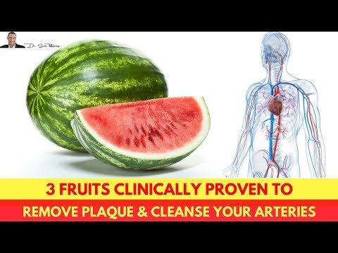 💗 3 Fruits Clinically Proven To Remove Plaque & Cleanse Your Arteries