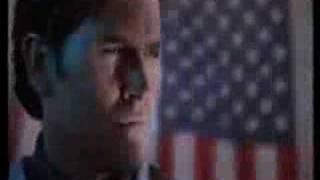 Bruce Campbell in Robocop (alternate ending)