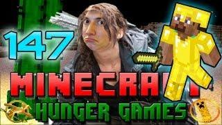 Minecraft: Hunger Games w/Mitch! Game 147 - Chicken Nugget Budder Champ!
