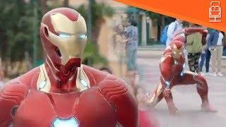 Video Avengers Infinity War New Look at Iron Man Armor MP3, 3GP, MP4, WEBM, AVI, FLV Maret 2018