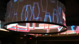 Vutec,s Rear-Vu fabric install by Video Screens, Inc.