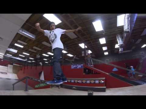 Heimana Reynolds skateboarding KTR March 2013