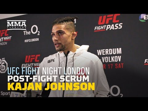 Kajan Johnson Takes 'Issue' With How MMA Fans Treat Fighters - MMA Fighting