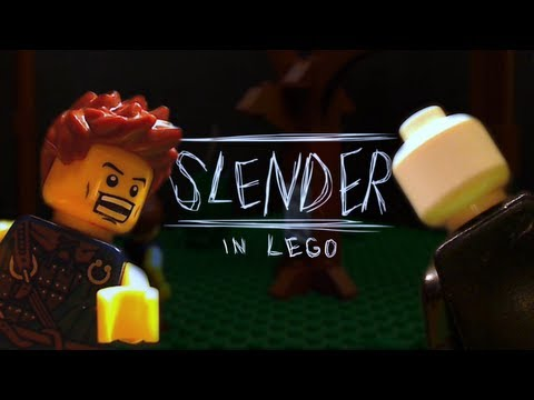 Slender in Lego