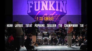 7 to Smoke (Man's only) – Funkin'lady KOREA 2018