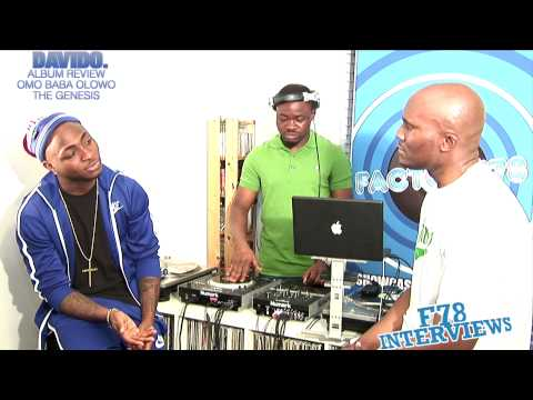 0 VIDEO: Davido Full Interview/Album Review on Factory78tv Davido
