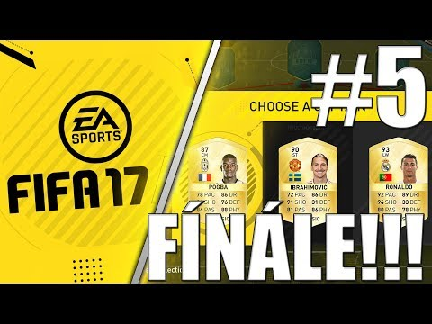 FIFA 17 | FUT DRAFT | VYHRANÝ DRAFT!? | #5 | CZ/SK