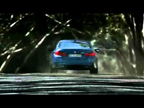 The New BMW M5.  (F10 M5 Commercial)