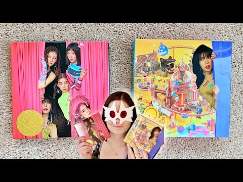🎟🎢Unboxing Red Velvet 레드벨벳 6th Mini The ReVe Festival' Day 1 (Day 1 Wendy + Guide Book Ver)