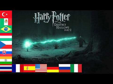 "Voldemort kills Harry Potter with ""Avada Kedavra"" 15 languages"