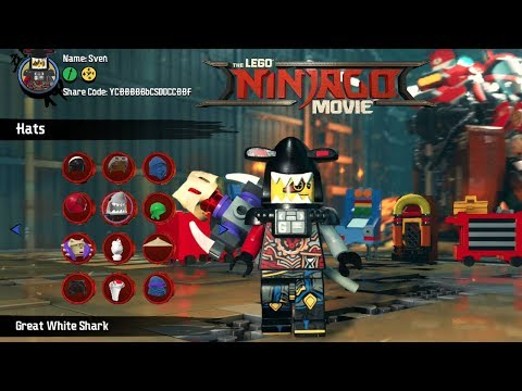 The LEGO Ninjago Movie Video Game All Cheat Codes & How To Find Them ...