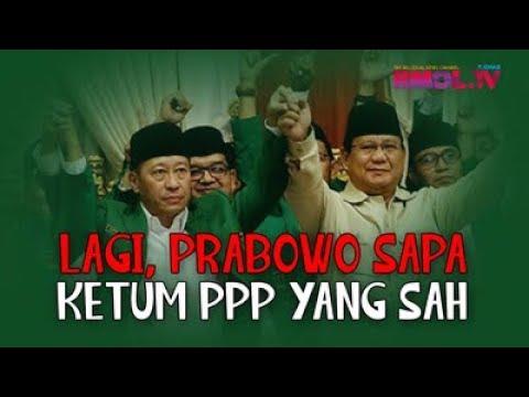 Lagi, Prabowo Sapa Ketum PPP Yang Sah