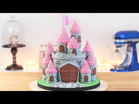 EASY PRINCESS CASTLE CAKE - Tan Dulce