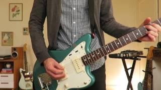 Fender American Vintage Reissue 62 Jazzmaster in Ocean Turquoise Metallic (Curtis Novak pickups)Effect: Memory Toy Analog Delay with Mod on.Digitech Screamin Blues Mixer output/////listen and buy my last music here: https://sebastienduhamel.bandcamp.com/instagram: https://www.instagram.com/seb_thatgreen/soundcloud: https://soundcloud.com/that-greenfacebook: https://www.facebook.com/thatgreenlofi//////