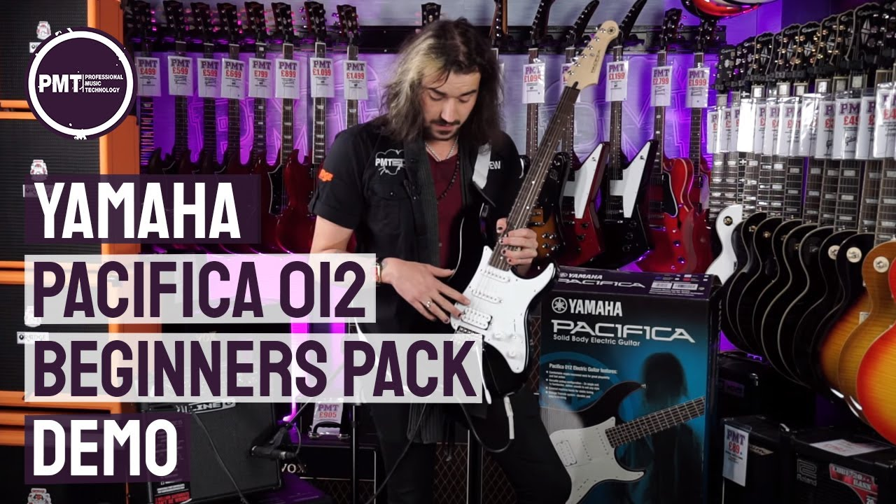 Yamaha Pacifica 012 Beginners Guitar Pack – Review & Demo