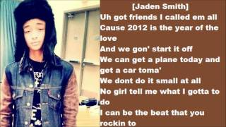 Justin Bieber Ft. Jaden Smith - Happy New Year Lyrics