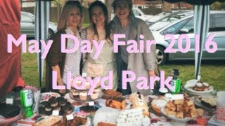 The May Day Fair at Lloyd Park is a great event. There is a dog show, May pole dancing and beer!  Walthamstow Migrants' Action Group was working with Ye Olde Rose & Crown and Stow-a-thon, selling cakes donated by all of Walthamstow's fabulous cake makers.  They raised £845 for the charity!