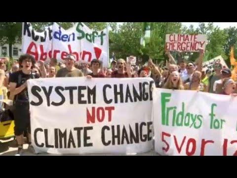 Γερμανία: Διαδηλώσεις για την κλιματική αλλαγή