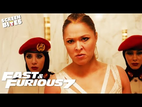 Ronda Rousey Beats Michelle Up! | Letty VS Kara | Furious 7 | SceneScreen
