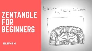 Do you want to watch a Zentangle tutorial for beginners Eleven? In this video I'm going to show the easiest way to draw Zentangle Patterns tutorial for begin...