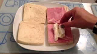Faire Un Croque Monsieur Au Chèvre - Sandwich Grillé