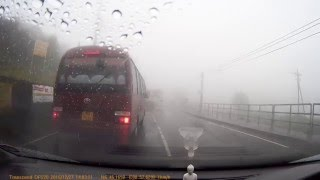 Bandarawela Sri Lanka  City pictures : Driving through misty roads in Haputale, Bandarawela Sri Lanka