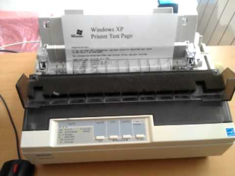 how to print self test on lx300