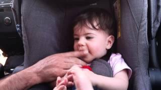 10. Eliya making noises like an Indian chief