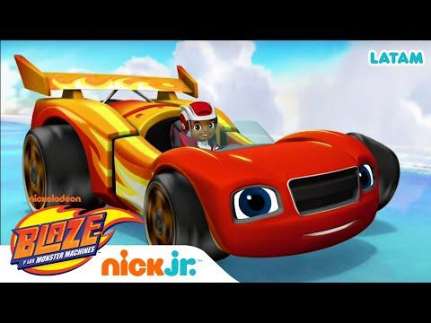 Hora de carreras de autos | Blaze and the Monster Machines