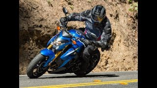 4. 2018 Suzuki GSX S1000F ABS First Look Review