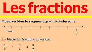 Maths 6ème - Fractions Exercice 3