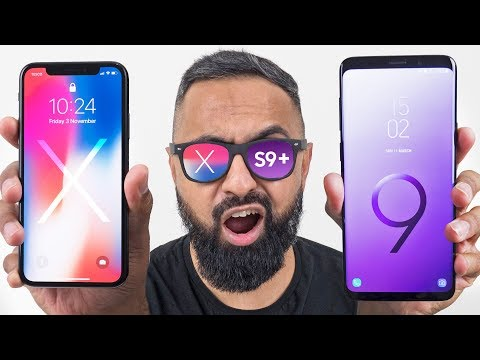 Samsung Galaxy S9 Plus Vs IPhone X
