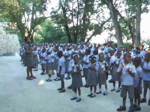 Visite en Haïti Collège Maranatha