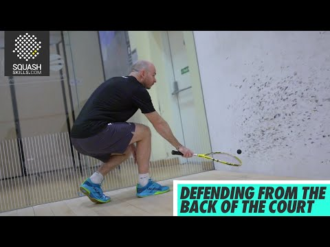 Squash tips: Defending from the Back Corners with Jesse Engelbrecht