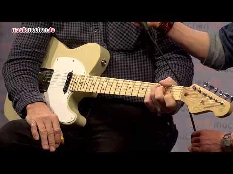 Musikmesse 2014 Jerry Donahue Neuheiten